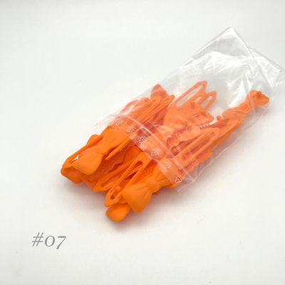 Auer Hair Clips Big Pack #07 orange
