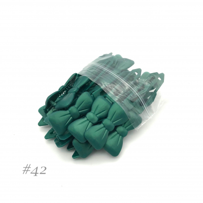 Auer Hairclips Big Pack #42 verde pino perlato