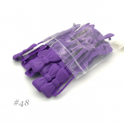 Auer Hairclips Big Pack #48 violet