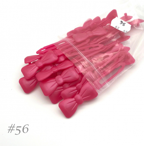 Auer Hairclips Big Pack #56 rosa perla