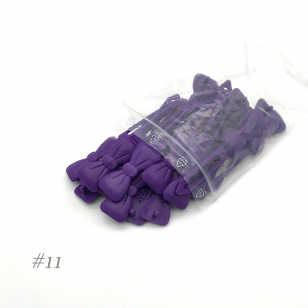 Auer Hair Clips Big Pack #11 purple
