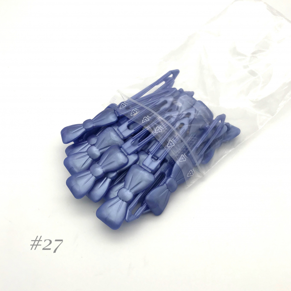 Auer Hairclips Big Pack #27 azul perla
