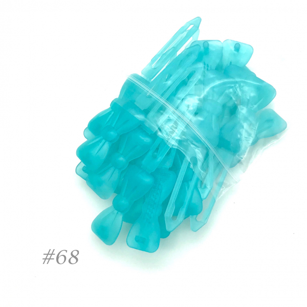 Auer Hairclips Big Pack #68 turquoise de glace